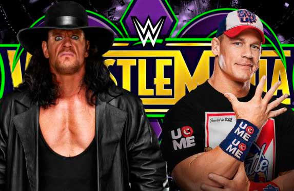 John Cena retó a The Undertaker para WrestleMania 34